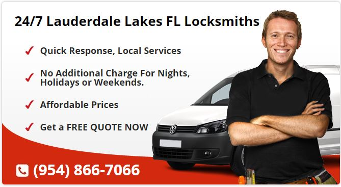 24 Hour Locksmith Lauderdale Lakes FL